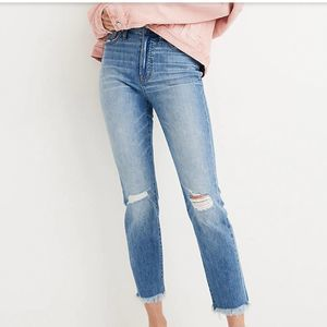 NWT Madewell The Perfect Vintage Jean Petite 36